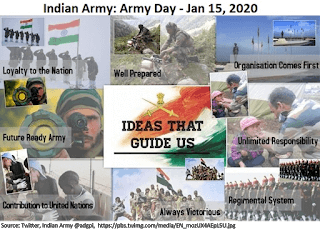 Indian Army day Jan 15, 2020
